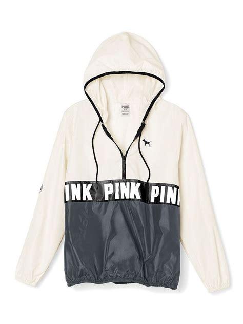 Jaket Sweater Hoodie Smitty Pink victorias secret pink anorak half zip pullover hoodie
