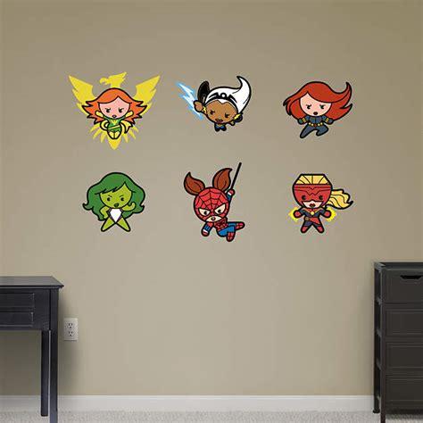 superheroes wall stickers kawaii marvel superheroes collection wall decal shop fathead 174 for marvel decor