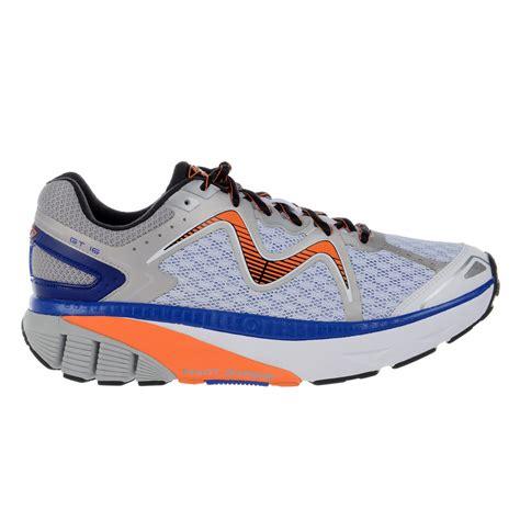 mbt c mbt gt 16 mens running shoes white burnt orange royal