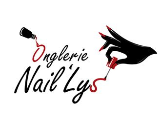 nail salon logo templates imagesjust try to be better onglerie naillys logo design 48hourslogo com