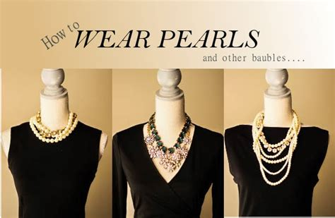 Unique Ways To Accessorize Your Lbd by How To Wear Pearls And Accessorize Your Black Dress