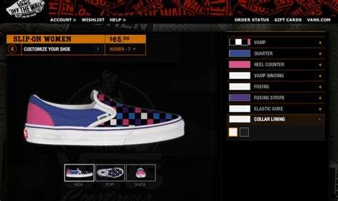 vans design your own custom shoes design and create your own vans sneakers