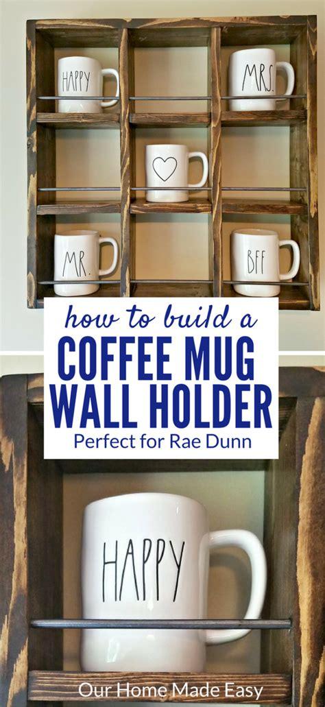 build  rae dunn mug holder  cheap coffee