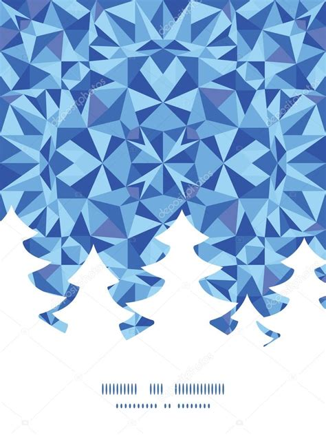triangle pattern vector blue vector blue triangle texture christmas tree silhouette