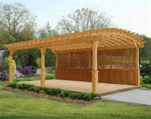 Arch Pergola by Treated Pine Arched Garden Free Standing Pergolas
