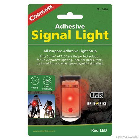adhesive light adhesive signal light signaling coghlan s
