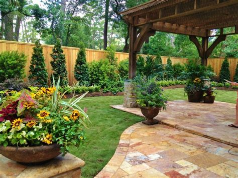 texas backyard landscaping ideas home and garden design magazine top 100 designers