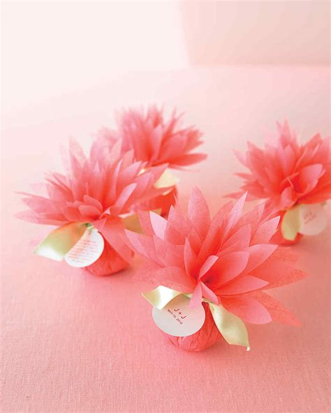 How To Make Tissue Paper Flowers Martha Stewart - paper flowers martha stewart