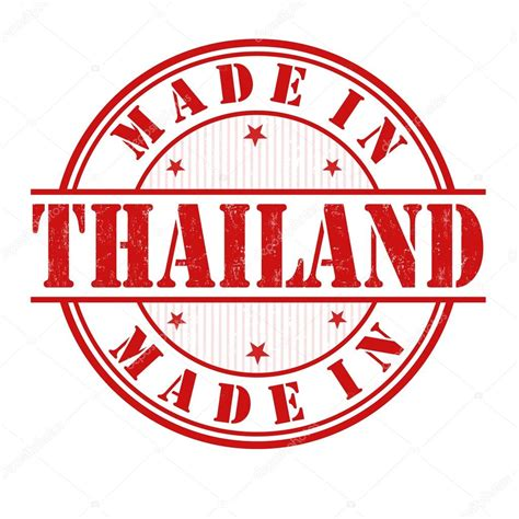 made with rubber st made in thailand st stock vector 169 roxanabalint 48365429