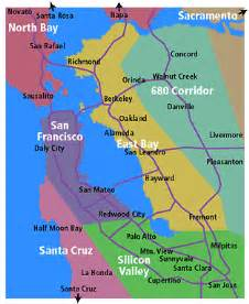 california bay area map san francisco bay area county map pictures to pin on