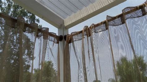 best 25 outdoor curtain rods ideas only on