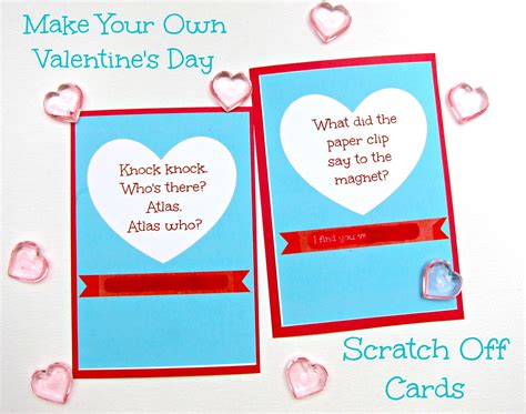 make your own valentines day card morena s corner
