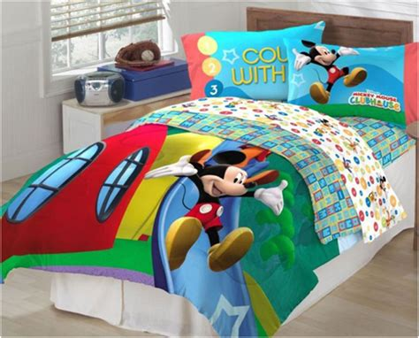 mickey mouse clubhouse comforter kids comforter sets with disney cartoon motif interior
