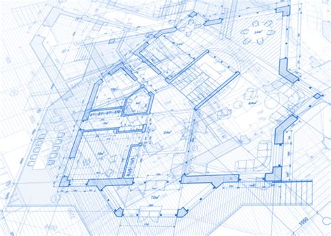 design for house construction free construction building blueprint design vector 04 vector architecture free download