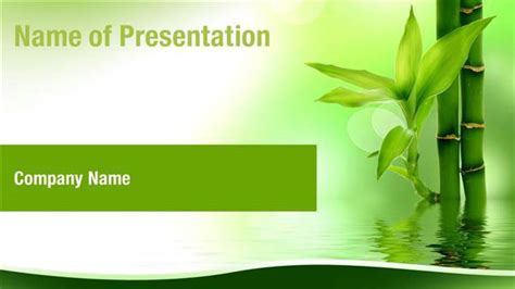 zen nature bamboo powerpoint templates zen nature bamboo
