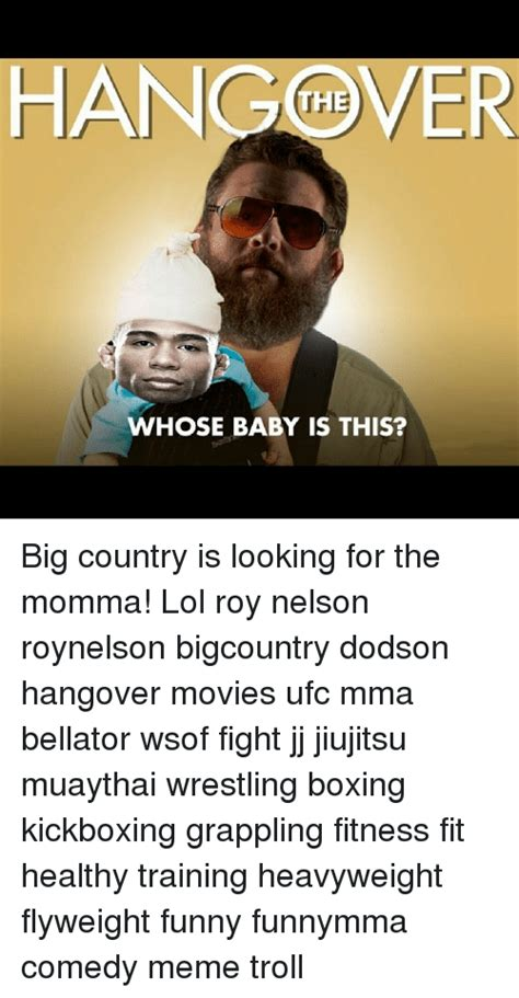 Whose Baby Is This hangver the whose baby is this big country is looking for