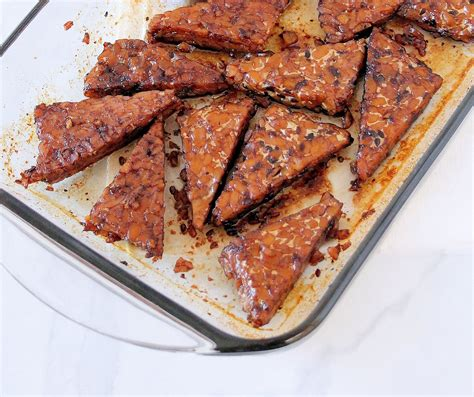 Maple Glazed Balsamic Tempeh Two Ways Inspired Edibles