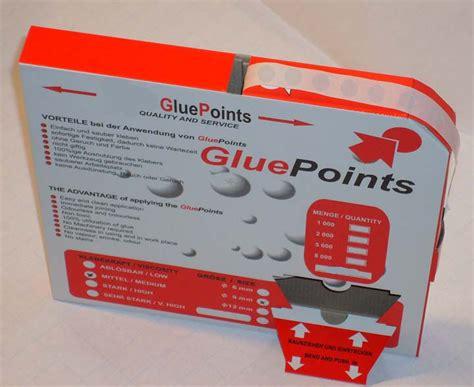 Endisch Etiketten by Gluepoints Doppelseitige Klebepunkte Stark Klebend Ca