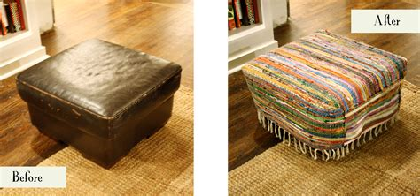 how to cover a ottoman bohemian ottoman cover decor hacks