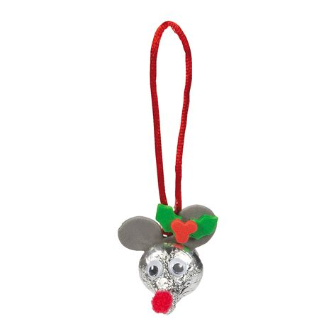 hershey s 174 kisses 174 mouse christmas ornament craft kit