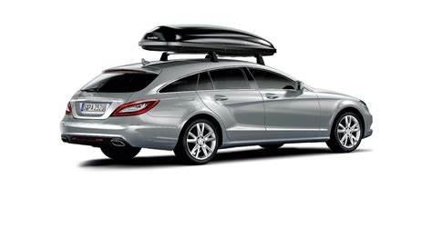 mercedes cls accessories mercedes introduces new accessories to cls shooting brake