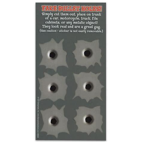 Magnet For Kitchen Knives bullet holes 4 quot x 8 quot waterproof car magnet budk com
