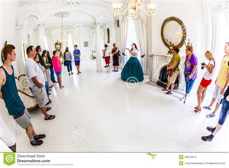 the white ballroom in the nottoway plantation mansion on white ballroom in nottoway plantation house editorial