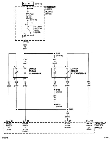 downstream oxygen sensor location 2001 dodge get free image about wiring diagram