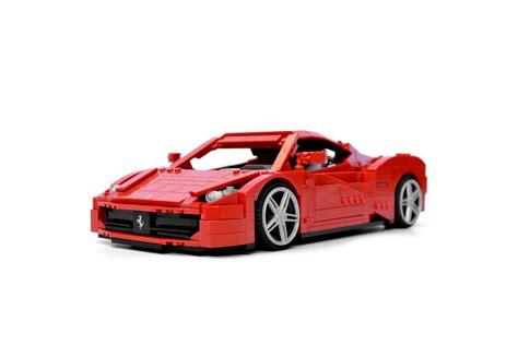 Lego Ferrari by Lego Ferrari 458 Italia Youtube