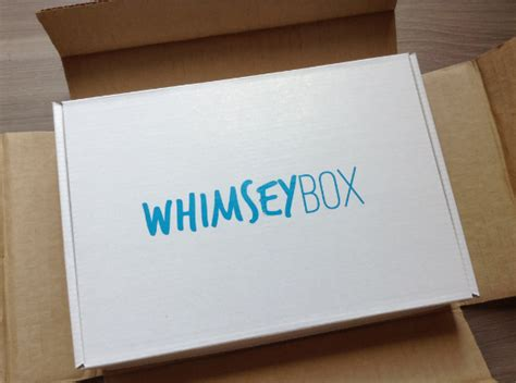 craft box subscription for whimsey box review craft subscription box august 2013