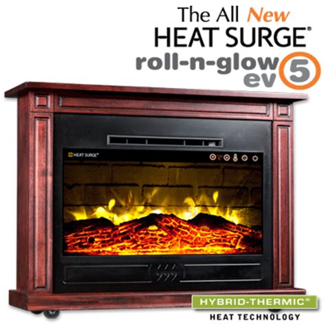 Heat Surge Electric Fireplace by Electric Fireplaces Electric Fireplace Heaters Heat Surge