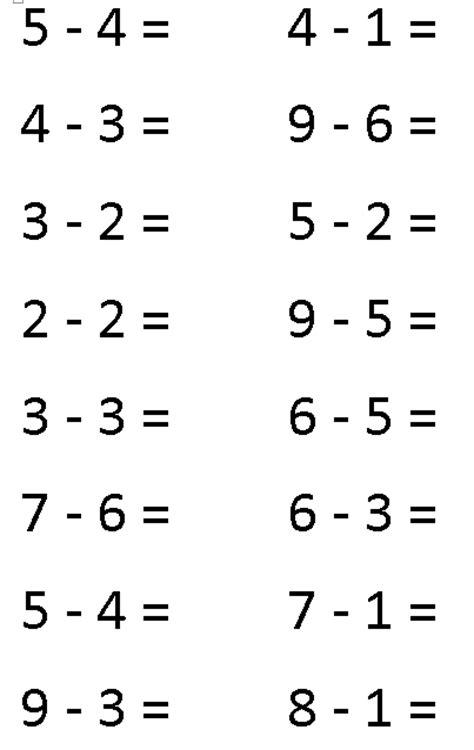 Pre k worksheets math pre kindergarten free math worksheets