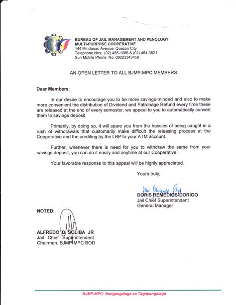 Quotation Withdrawal Letter Memo On Schedule Of General Assembly Just B Cause
