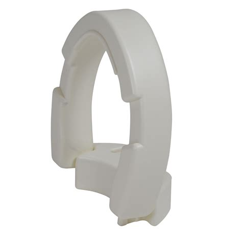 hinged toilet seat riser elongated seat ams
