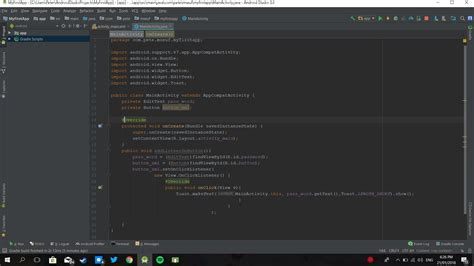 android studio toast tutorial android studio 3 0 toast logical error stack overflow