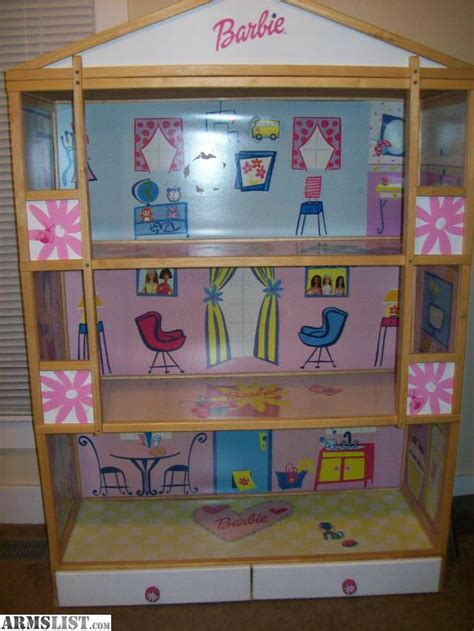 tall barbie doll house armslist for trade 5 tall barbie dollhouse