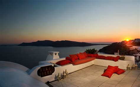 Traditional Style Home by Oia Santorini Hotels Nikos Villas Hotel In Santorini