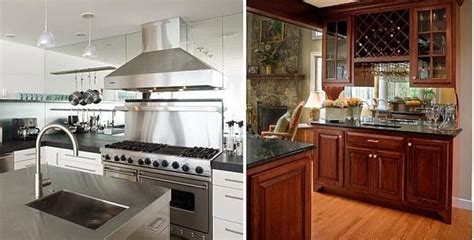 mirror in kitchen how to cleverly save space in the kitchen