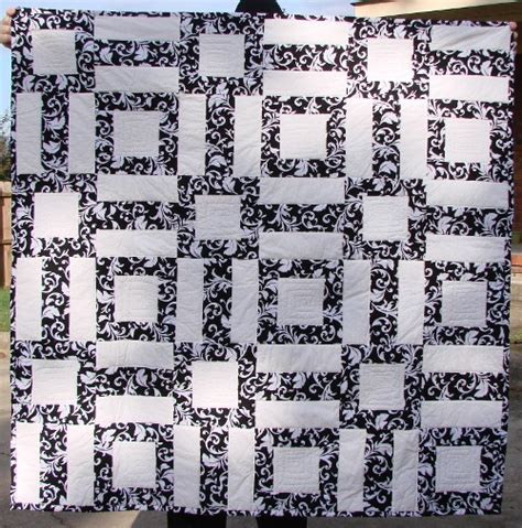 Free Black And White Quilt Patterns by Easy Black And White Quilt Pattern Archives
