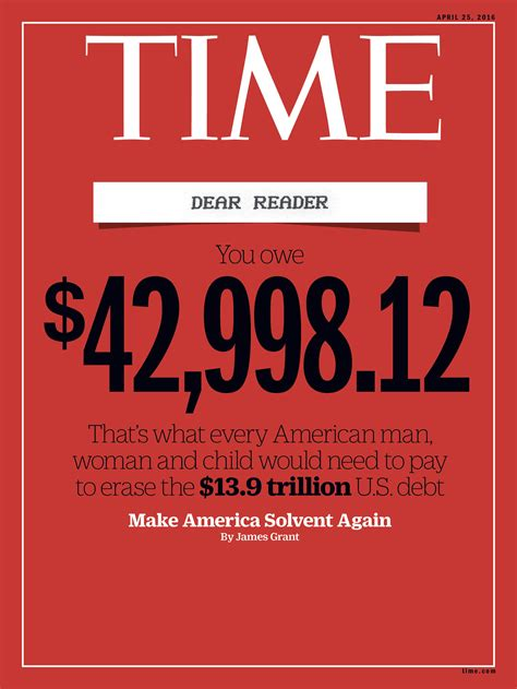 united states debt clock january 2016 dave manuel time magazine cover make america solvent again time