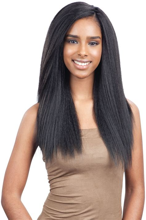 crocet wig with straight hair freetress crochet braid 3x pre loop crochet yaky 16 inch