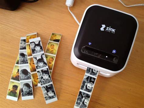Printer Photo Booth happy printer a wireless inkless portable printer dogford studios