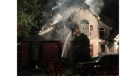 chesterfield house fire firefighter video news chesterfield county five killed at house fire
