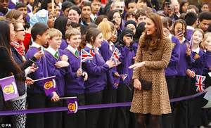 How To Paint A Room Red kate middleton duchess of cambridge makes first visit as