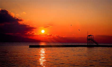sun sunset red  photo  pixabay