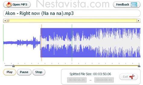 cortar archivos de audio cutmp3 cortar archivos de audio mp3 online nestavista