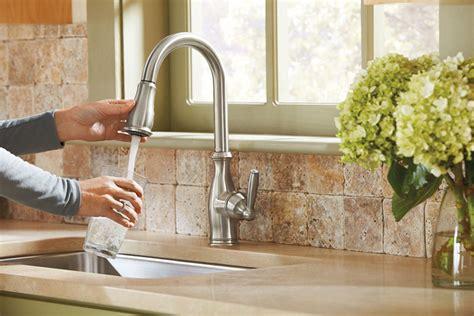 moen  brantford kitchen faucet review high arc pulldown kitchen faucet