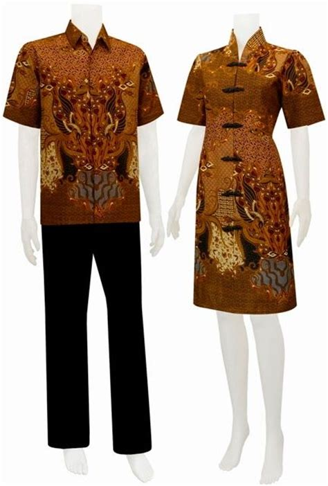 Sarimbit Dress A 46 baju batik modern dress sarimbit batik