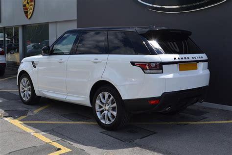 white wrapped range rover range rover sport full wrap in white reforma uk