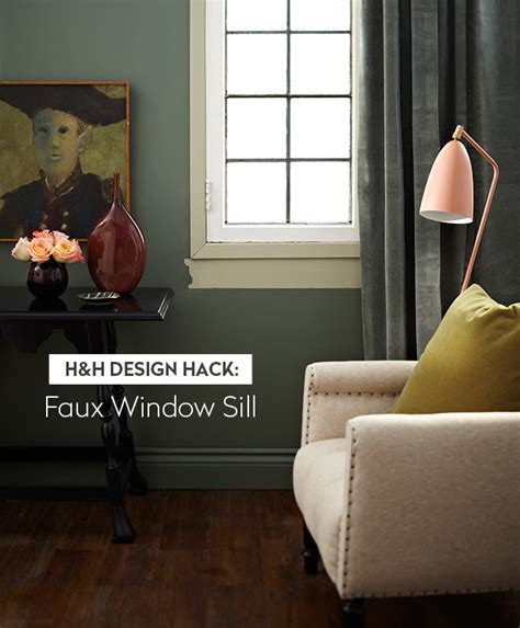 Synthetic Window Sills Faux Window Sill Design Hack To Lify Your Window Frame